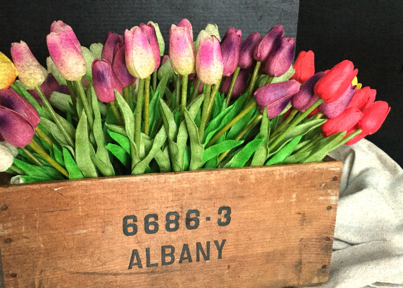 Box of Tulips